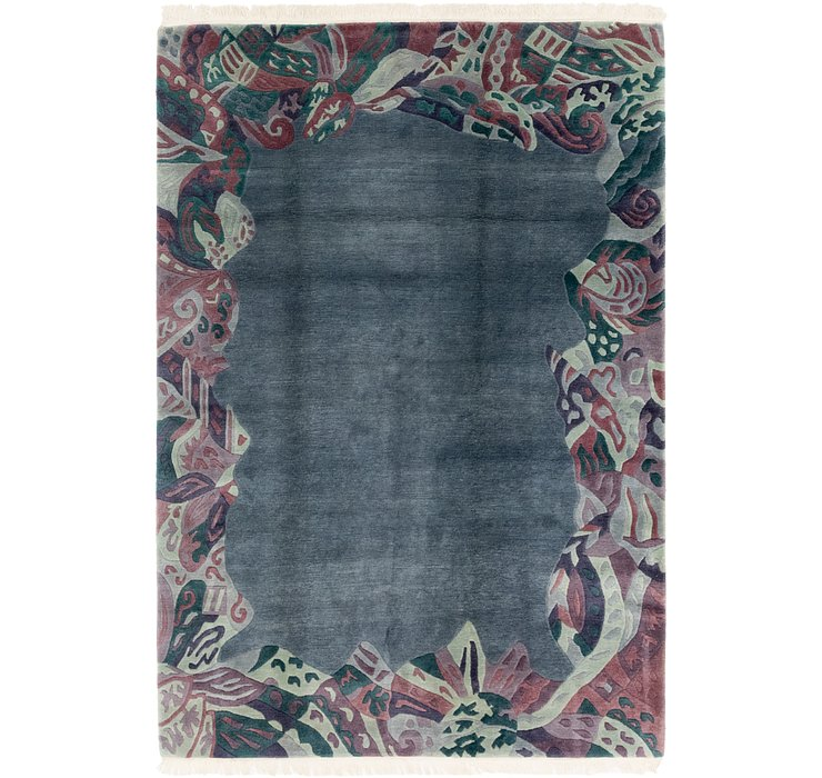 HandKnotted 6' 9 x 10' Nepal Rug