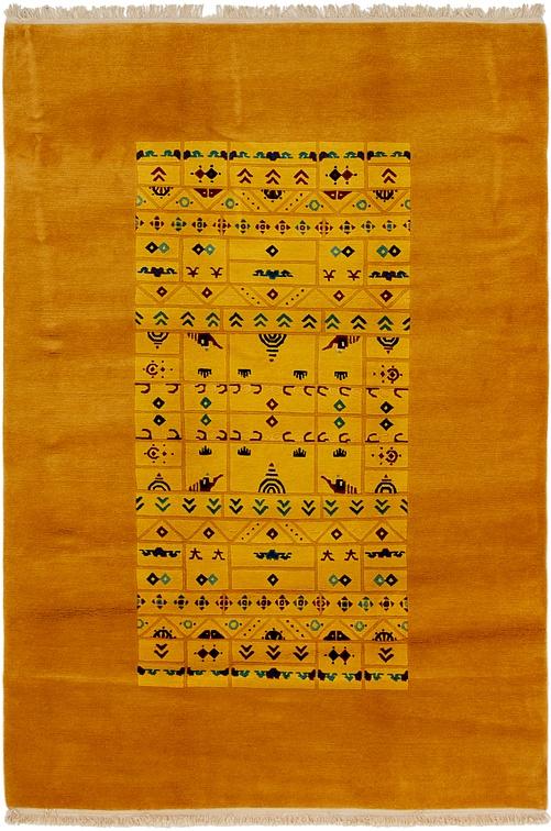 Gold  6' 8 x 10' Nepal