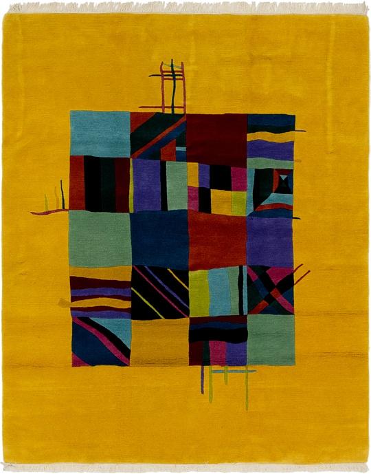 Yellow  6' 5 x 8' Nepal
