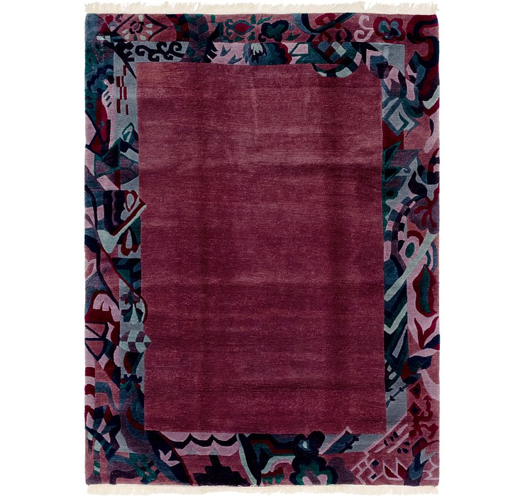 HandKnotted 6' 7 x 8' 9 Nepal Rug