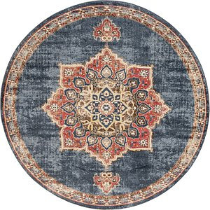 Link to 8' x 8' Arcadia Round Rug item page