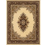 Link to 9' x 12' Mashad Design Rug