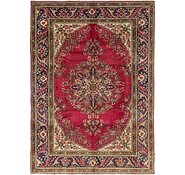 Link to 7' x 9' 6 Tabriz Persian Rug