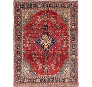 Link to 208cm x 275cm Hamedan Persian Rug