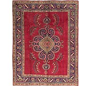Link to 7' 3 x 9' 6 Tabriz Persian Rug