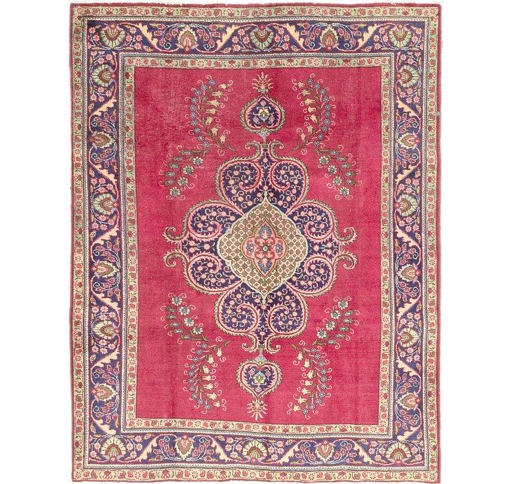 7' 3 x 9' 6 Tabriz Persian Rug