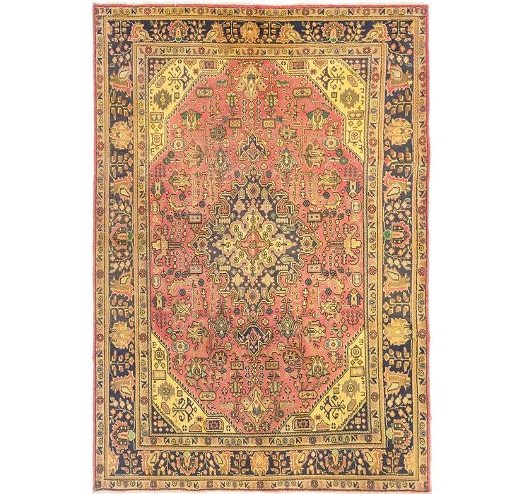 6' 7 x 8' 9 Tabriz Persian Rug