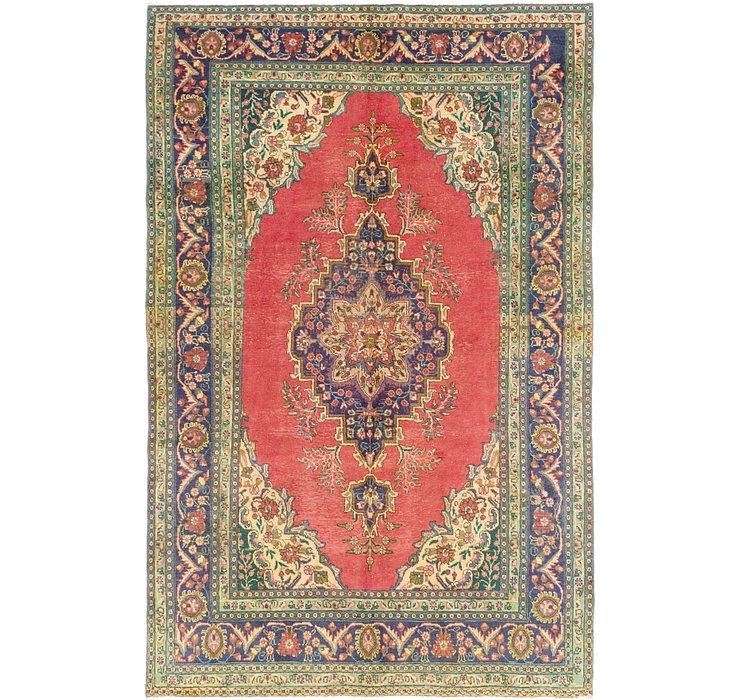 6' 9 x 10' 5 Tabriz Persian Rug
