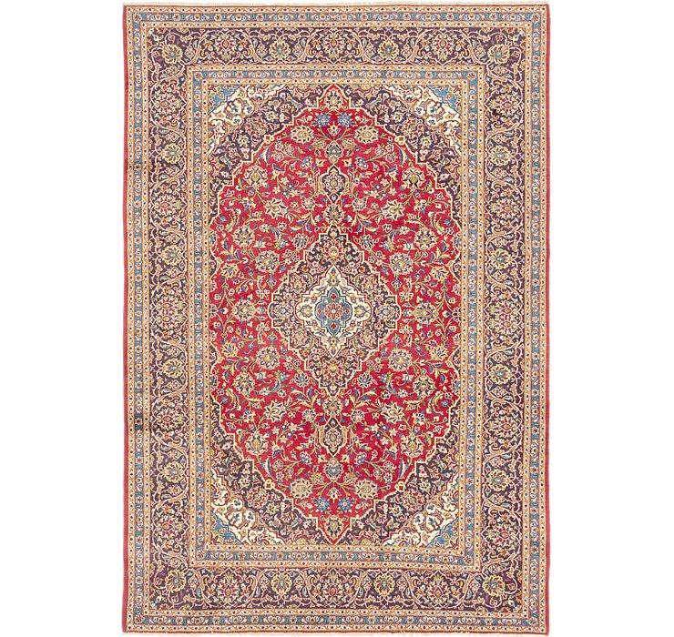 7' 9 x 11' 5 Kashan Persian Rug