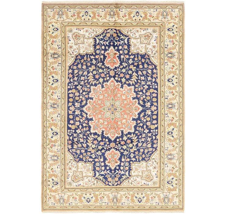 6' 6 x 9' 5 Tabriz Persian Rug