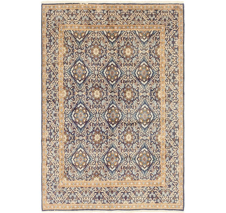 6' 4 x 9' 5 Kashan Persian Rug