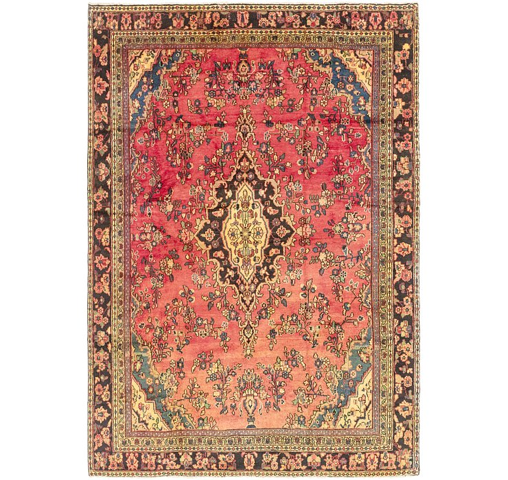 8' 3 x 12' Hamedan Persian Rug
