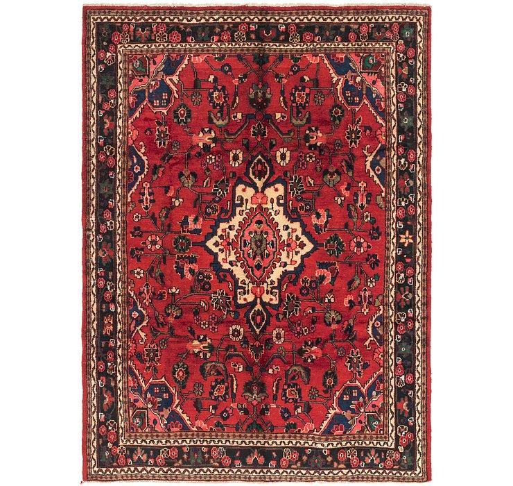 7' x 9' 5 Hamedan Persian Rug