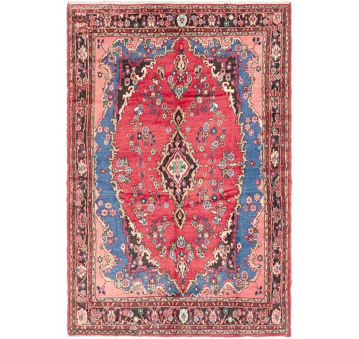 208cm x 318cm Hamedan Persian Rug