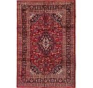 Link to 6' 7 x 9' 9 Mashad Persian Rug