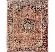 Link to 7' 9 x 9' 5 Mashad Persian Rug