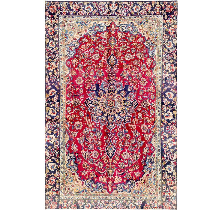 7' 2 x 11' 3 Isfahan Persian Rug
