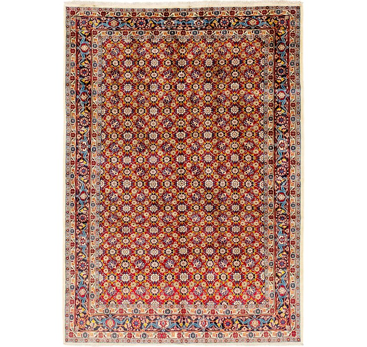 6' 8 x 9' 6 Shirvan Persian Rug