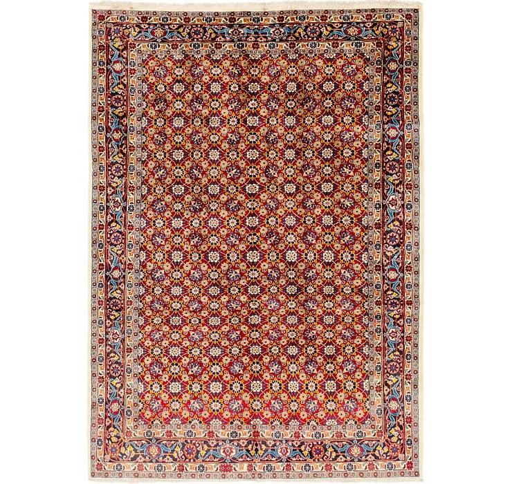 6' 8 x 9' 6 Shirvan Persian Rug