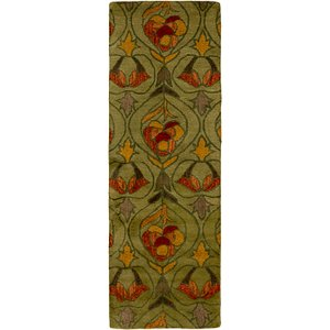 Link to 2' 7 x 8' Classic Agra Runner Rug item page