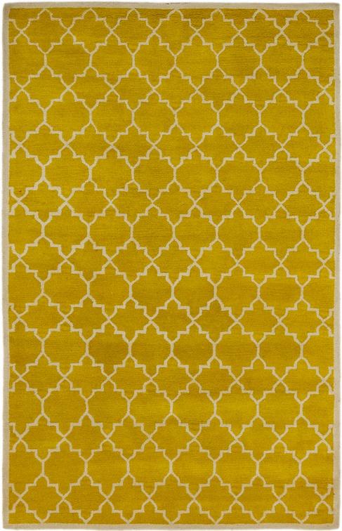 Yellow  5' x 7' 10 Luna