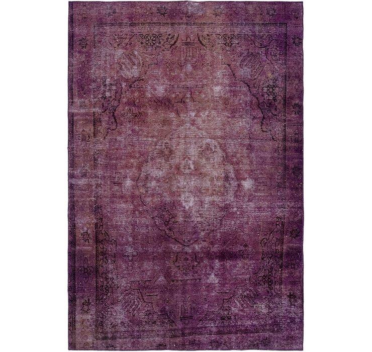 6' 4 x 9' 4 Ultra Vintage Persian Rug