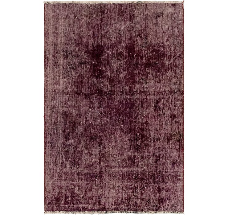 4' x 6' 4 Ultra Vintage Persian Rug