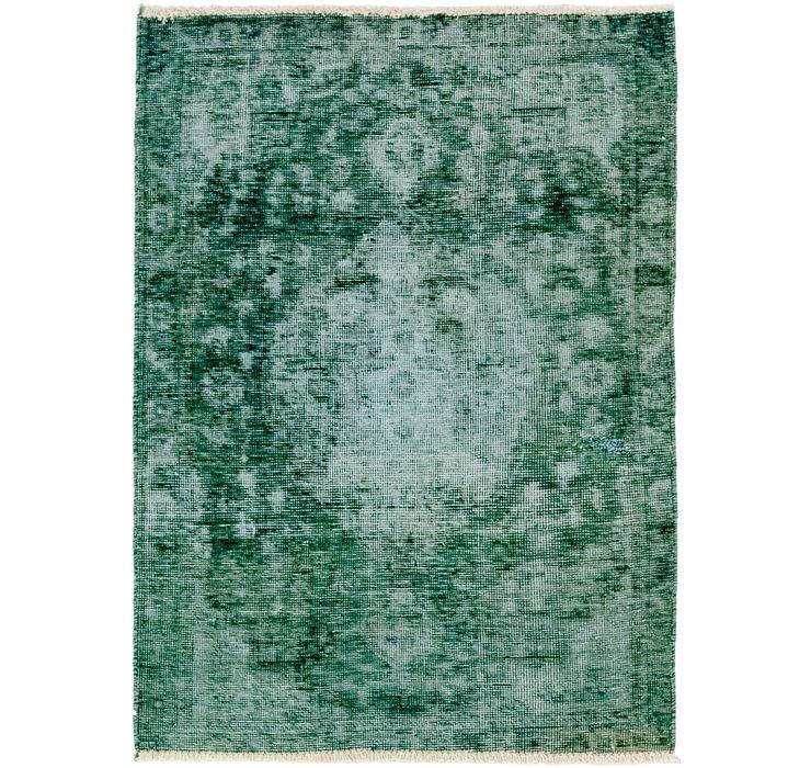 90cm x 130cm Ultra Vintage Persian Rug