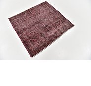 Link to 112cm x 122cm Ultra Vintage Persian Square Rug