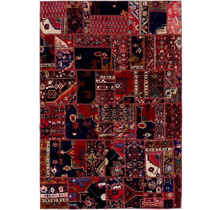 6' 2 x 9' Ultra Vintage Persian Rug