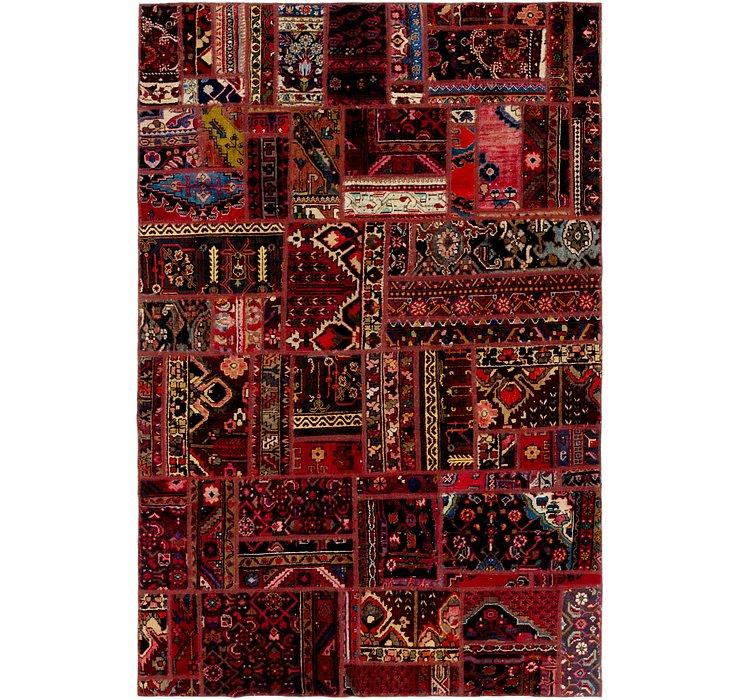 6' 2 x 9' 2 Ultra Vintage Persian Rug