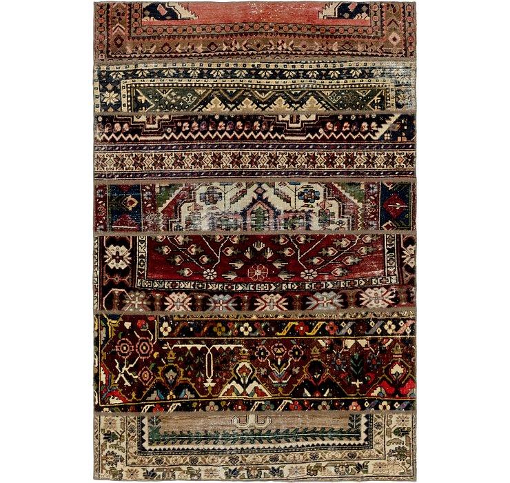 5' x 7' 4 Ultra Vintage Persian Rug