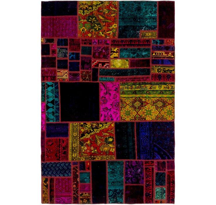 165cm x 250cm Ultra Vintage Persian Rug