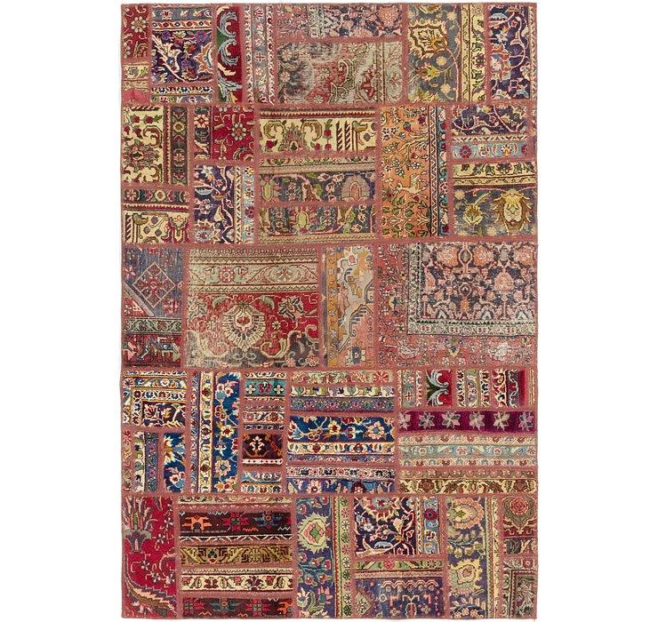 5' x 7' 6 Ultra Vintage Persian Rug