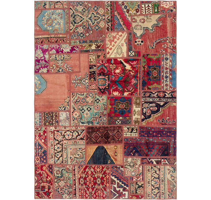 6' x 8' 3 Ultra Vintage Persian Rug