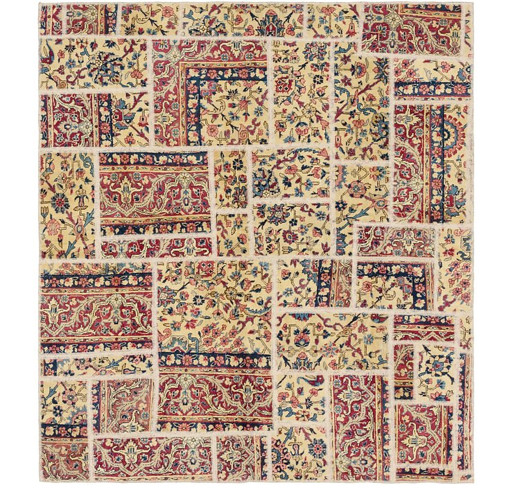 183cm x 200cm Ultra Vintage Persian S...