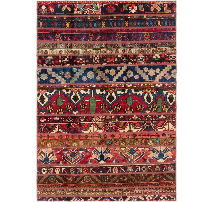 4' 8 x 6' 10 Ultra Vintage Persian Rug