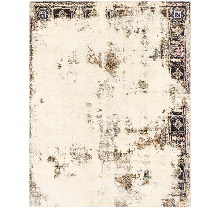 218cm x 275cm Ultra Vintage Persian Rug