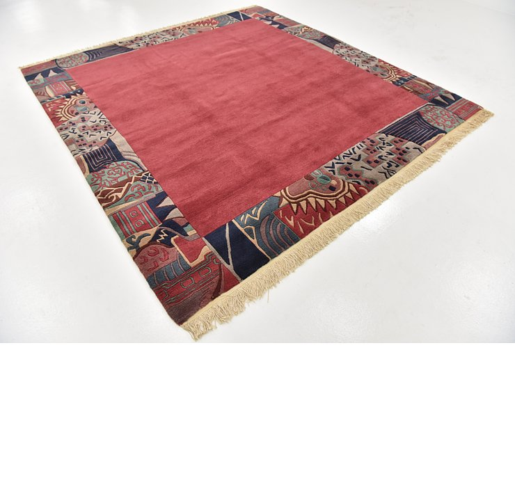 HandKnotted 8' 3 x 8' 8 Nepal Square Rug