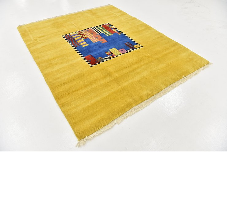 HandKnotted 6' 5 x 7' 9 Nepal Square Rug