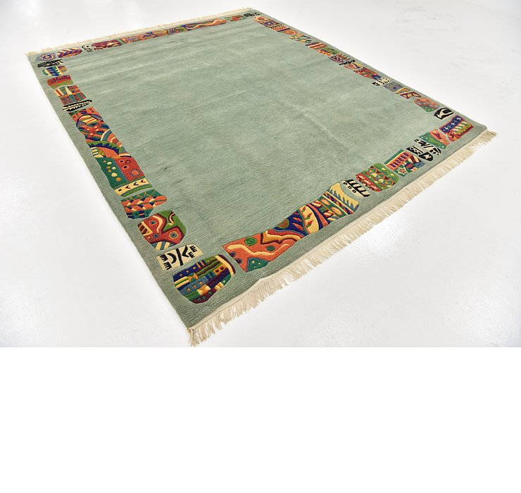 HandKnotted 6' 10 x 8' Nepal Square Rug