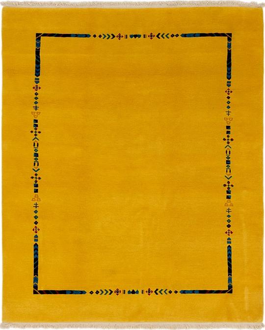 Yellow  6' 8 x 8' 2 Nepal