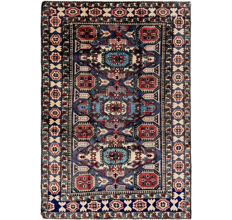 4' 2 x 6' 3 Ardabil Persian Rug
