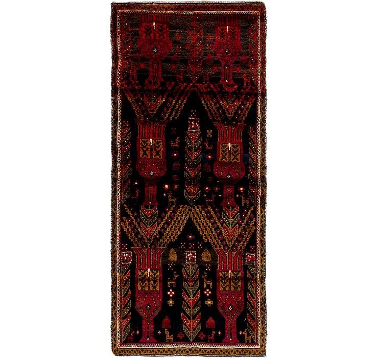 3' x 7' Ghashghaei Persian Runn...