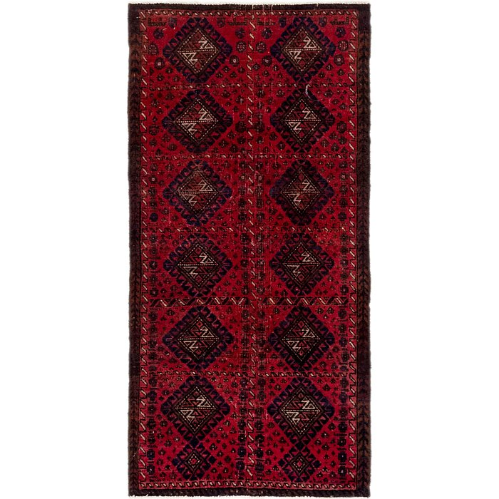2' 6 x 5' 4 Balouch Persian Rug