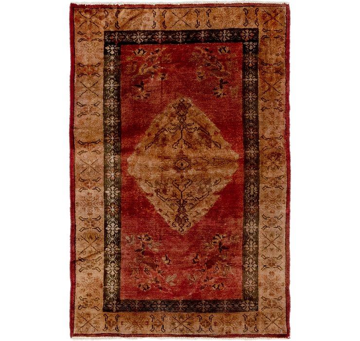 3' 8 x 5' 6 Hamedan Persian Rug