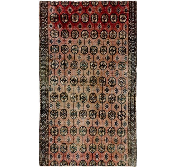 122cm x 200cm Balouch Persian Rug