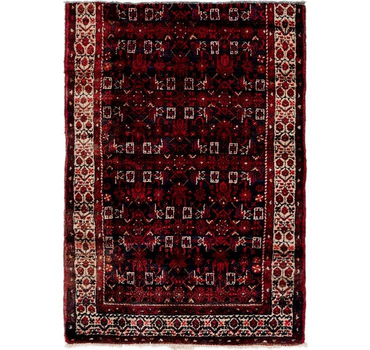 3' 9 x 5' 5 Shahsavand Persian Rug