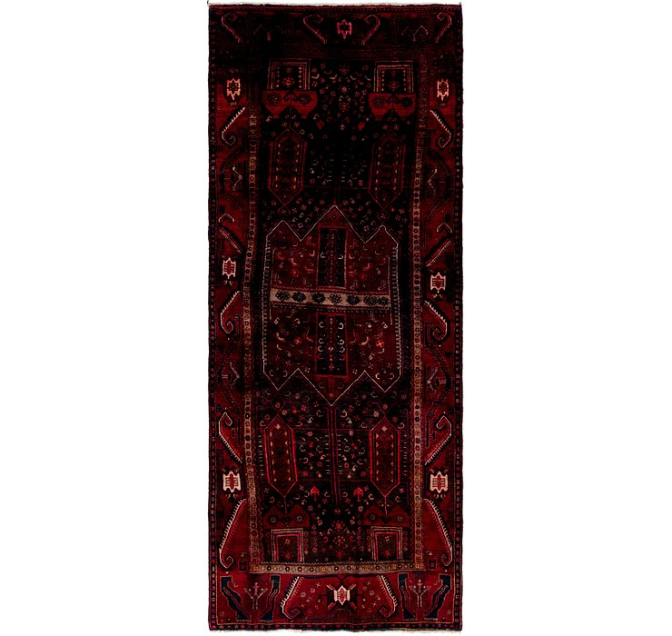 4' 6 x 11' 3 Sirjan Persian Runner Rug
