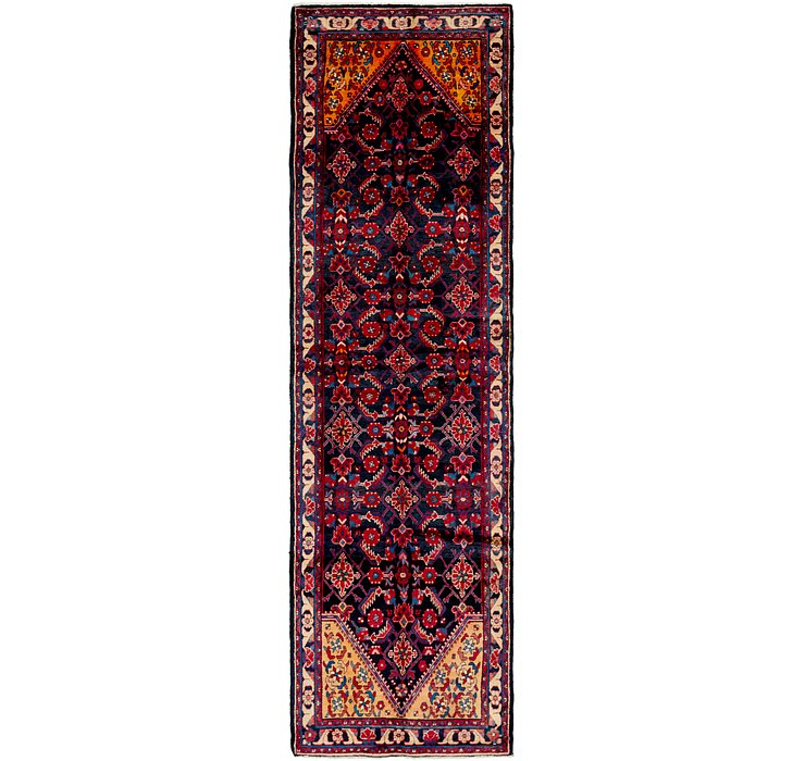 3' 6 x 12' 4 Hamedan Persian Runner ...